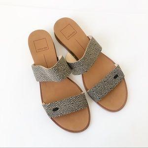 Dolce Vita | Double Strap Slide Mini Wedge Sandals